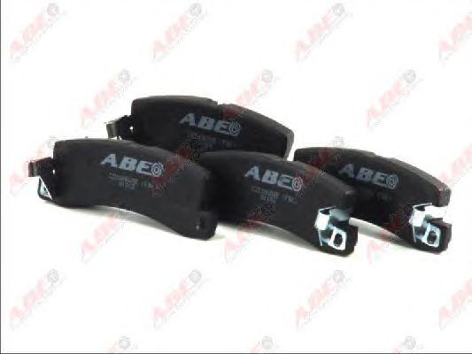 Тормозные колодки ABE C22005ABE