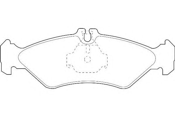 Тормозные колодки WAGNER WBP21621A