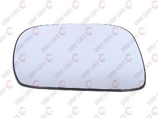 Стекло зеркала заднего вида BLIC 6102-02-1291227P