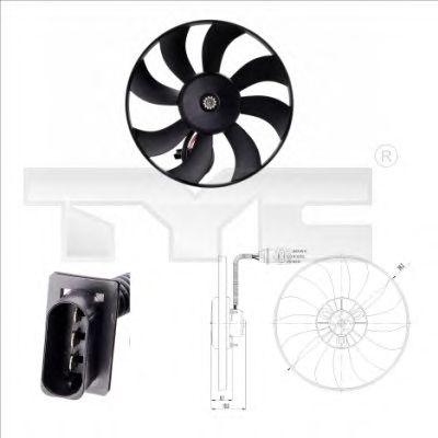 Вентилятор охлаждения TYC 837-0020