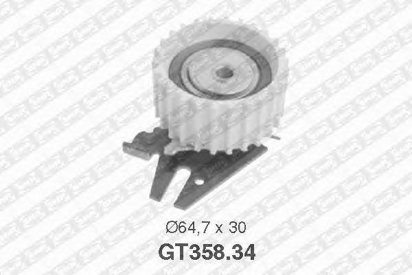 Натяжной ролик ремня ГРМ SNR GT358.34