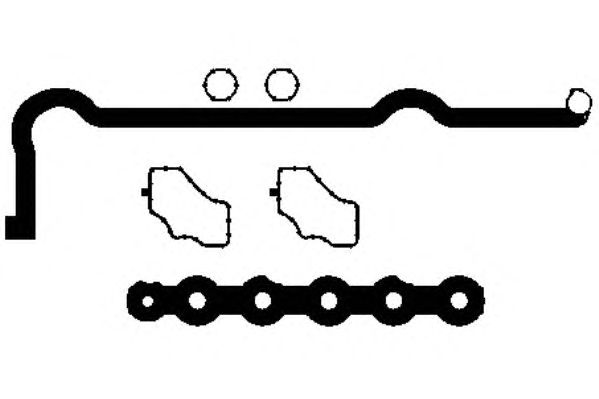 Комплект прокладок клапанной крышки PAYEN HM5291