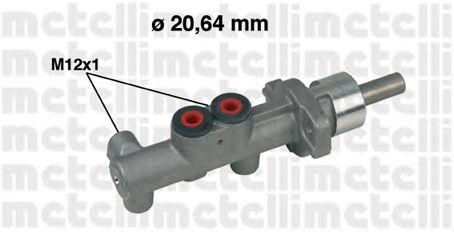 Главный тормозной цилиндр METELLI 05-0400