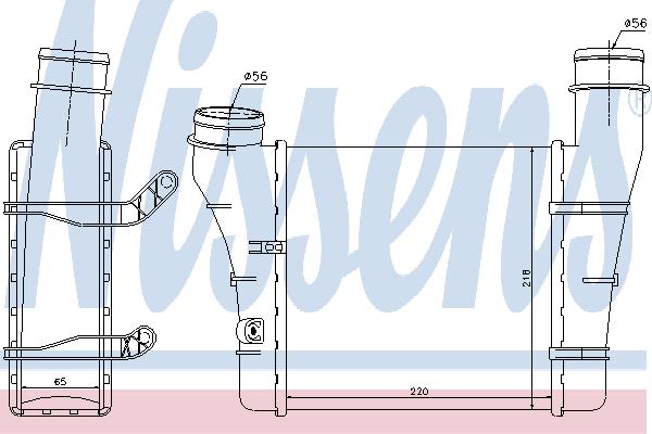 Интеркулер NISSENS 96707