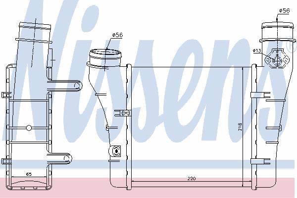 Интеркулер NISSENS 96549