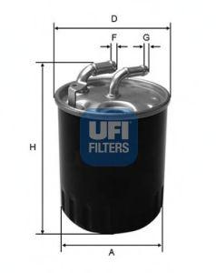 Топливный фильтр UFI 24.077.00