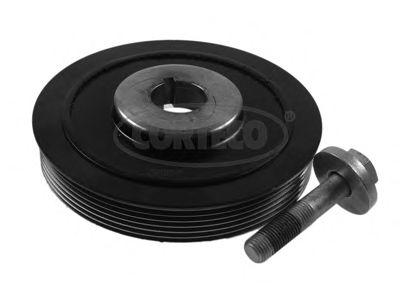 Комплект ременных шкивов, коленчатый вал CORTECO 80004328