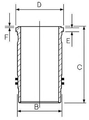 Гильза цилиндра AE SJ351496