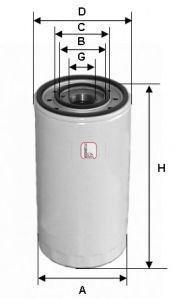 Масляный фильтр SOFIMA S 3475 R