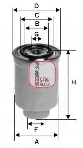 Топливный фильтр SOFIMA S 1446 NR