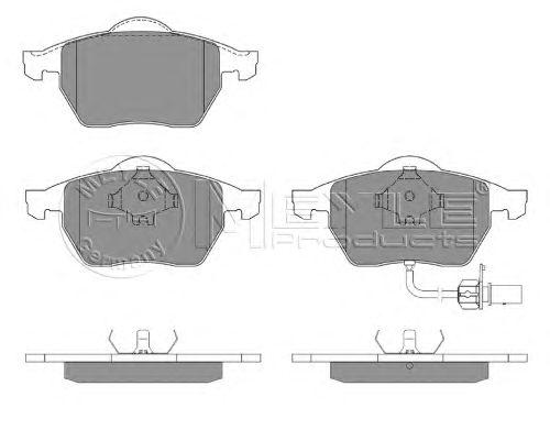 Тормозные колодки MEYLE 025 218 4919/W