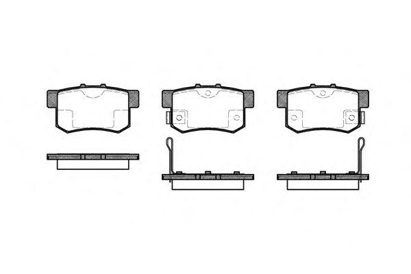 Тормозные колодки REMSA 0325.02