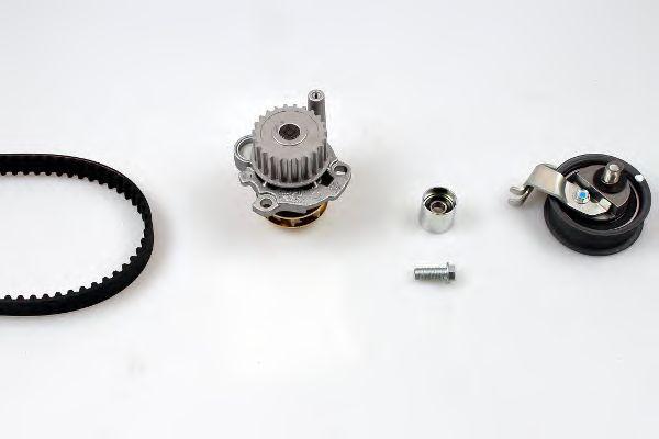 Помпа + комплект ГРМ HEPU PK05471