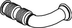 Труба выхлопного газа DINEX 22296