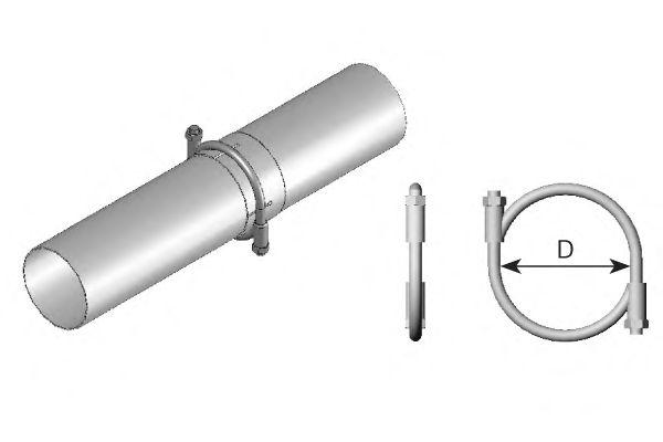 Клемма, система выпуска DINEX 99154