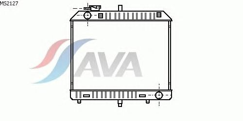 Радиатор, охлаждение двигателя AVA QUALITY COOLING MS2127