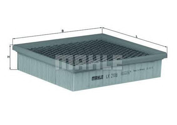 Воздушный фильтр MAHLE ORIGINAL LX 2108