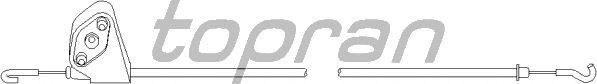 Система управления ручки двери TOPRAN 109 076