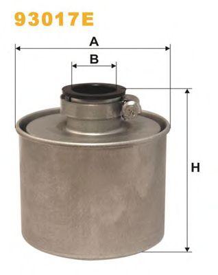 Фильтр системы вентиляции картера WIX FILTERS 93017E