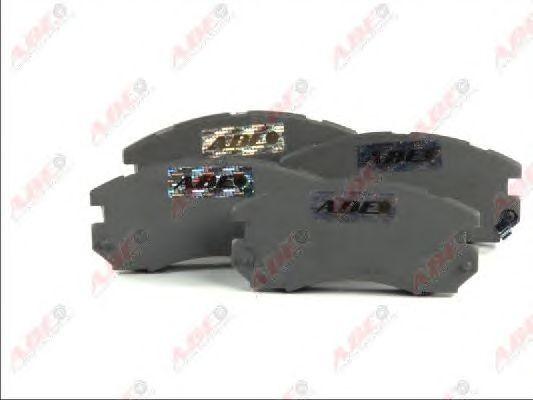 Тормозные колодки ABE C17009ABE
