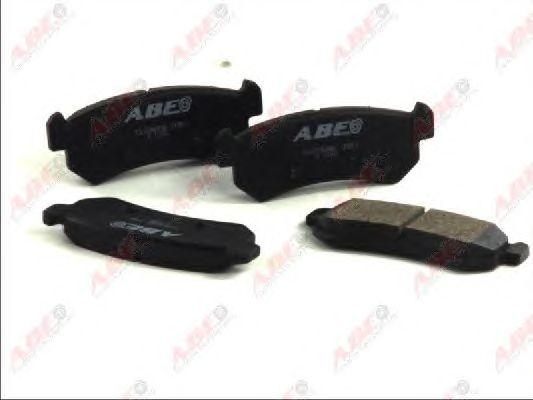 Тормозные колодки ABE C20006ABE