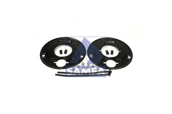 Сальник ступицы SAMPA 070.558