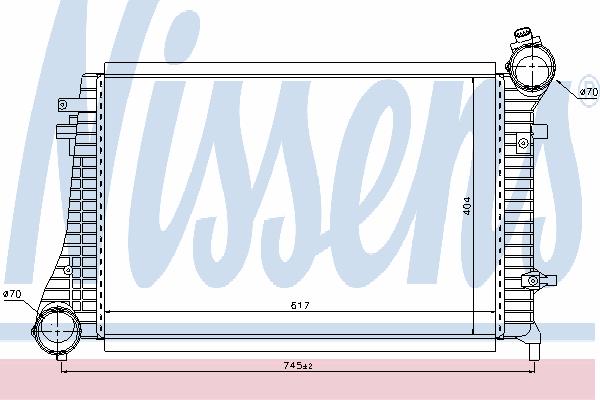 Интеркулер NISSENS 96619