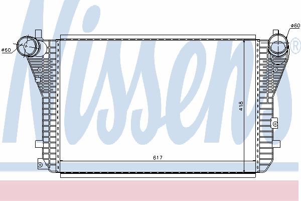 Интеркулер NISSENS 96568