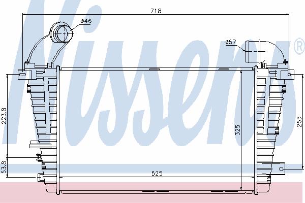 Интеркулер NISSENS 96590