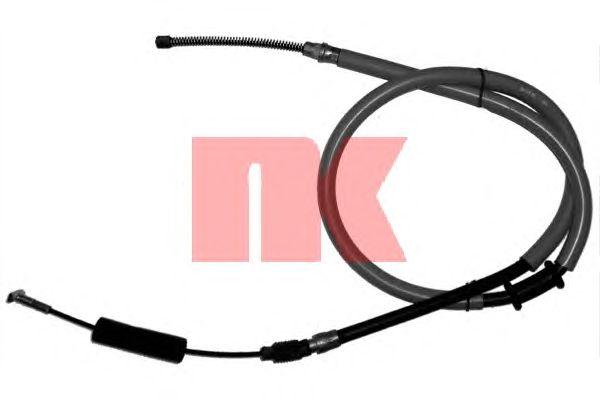 Трос ручника NK 902398