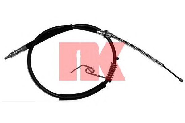 Трос ручника NK 9025129