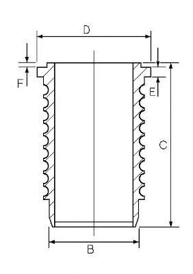 Гильза цилиндра AE SJ351293