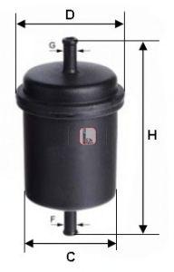 Топливный фильтр SOFIMA S 3900 B
