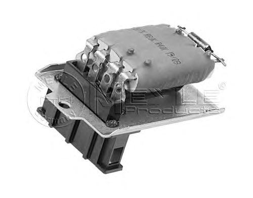 Реостат вентилятора отопителя MEYLE 100 800 0034