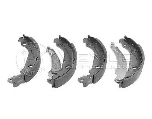Тормозные колодки MEYLE 11-14 533 0003/S