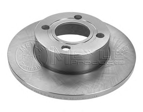 Тормозной диск MEYLE 115 521 1087