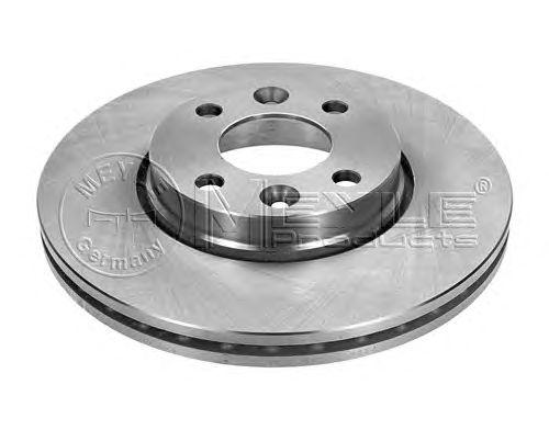 Тормозной диск MEYLE 16-15 521 0009