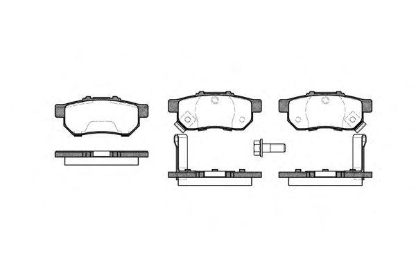 Тормозные колодки REMSA 0233.52