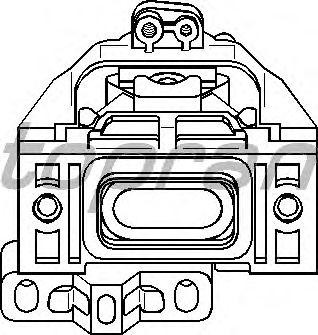 Подушка двигателя TOPRAN 107 974