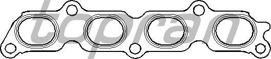Прокладка выпускного коллектора TOPRAN 301 863