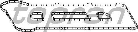 Прокладка клапанной крышки TOPRAN 302 272