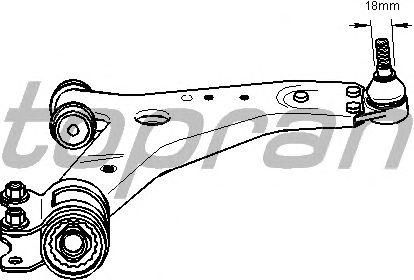 Рычаг подвески TOPRAN 302 480