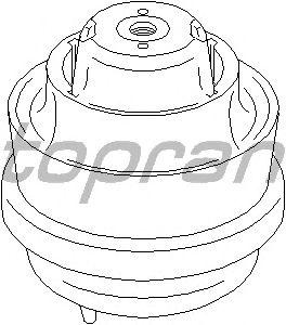 Подушка двигателя TOPRAN 401 267
