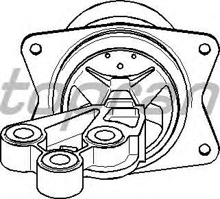 Подушка двигателя TOPRAN 206 576