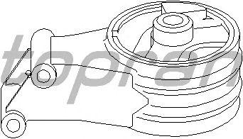 Подушка двигателя TOPRAN 206 562