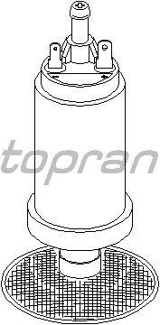 Топливный насос TOPRAN 721 468