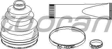 Комплект пыльника ШРУСа TOPRAN 721 200