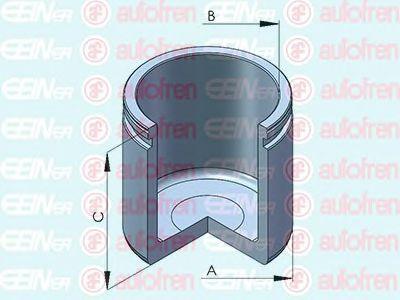 Поршень тормозного суппорта AUTOFREN SEINSA D025299