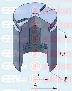 Поршень тормозного суппорта AUTOFREN SEINSA D025295