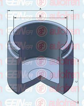 Поршень тормозного суппорта AUTOFREN SEINSA D025308